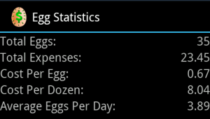 flock statistics screen