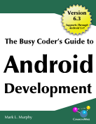 book cove for the busy coder's guide to Android development